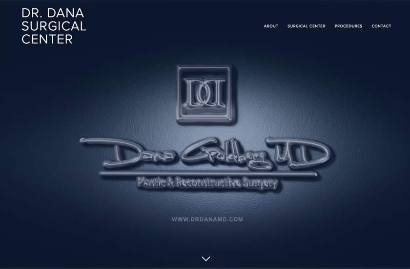 dr dana plastic surgeon surgical center micro site homepage