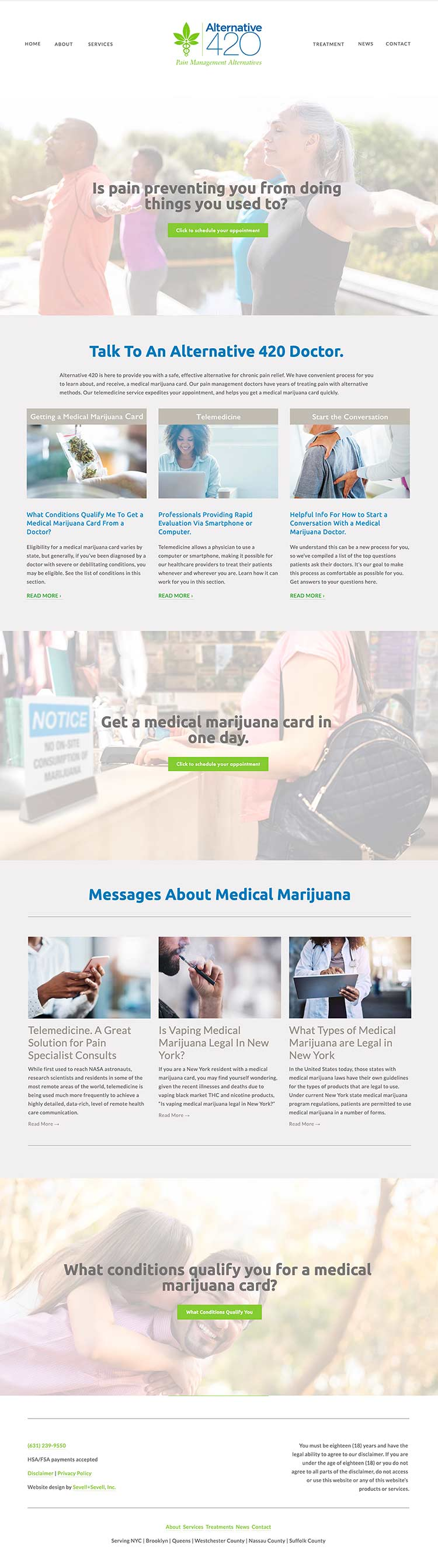 alternative420 medical marijauan wesbite homepage