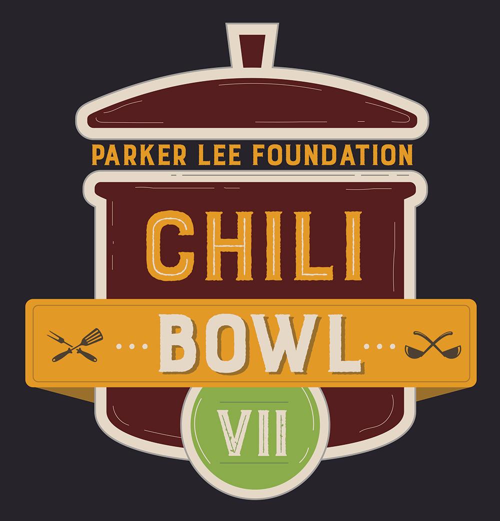 Entre Chili Bowl 7 logo for Parker Lee Foundation