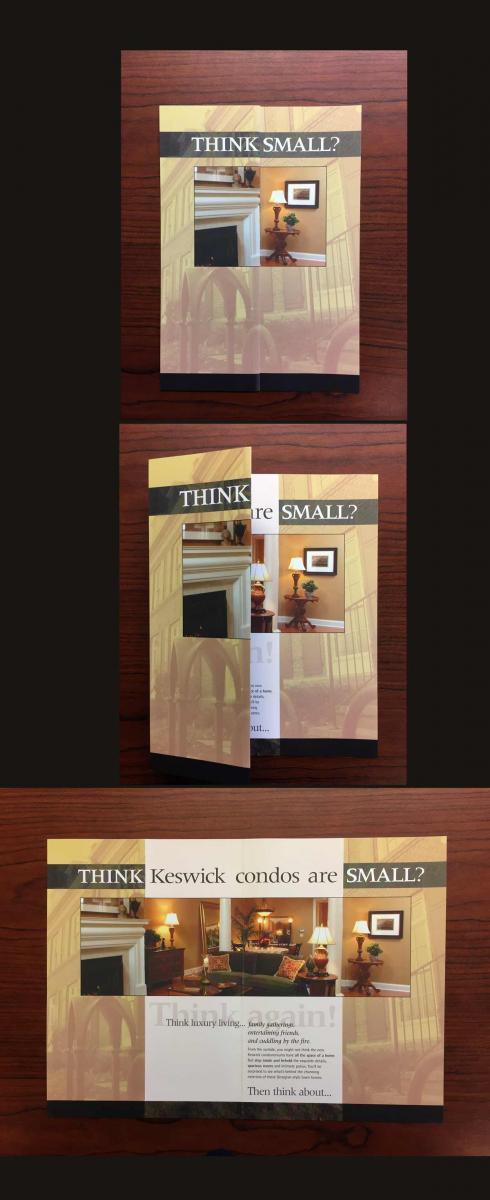 direct marketing examples for Keswick condo mailer