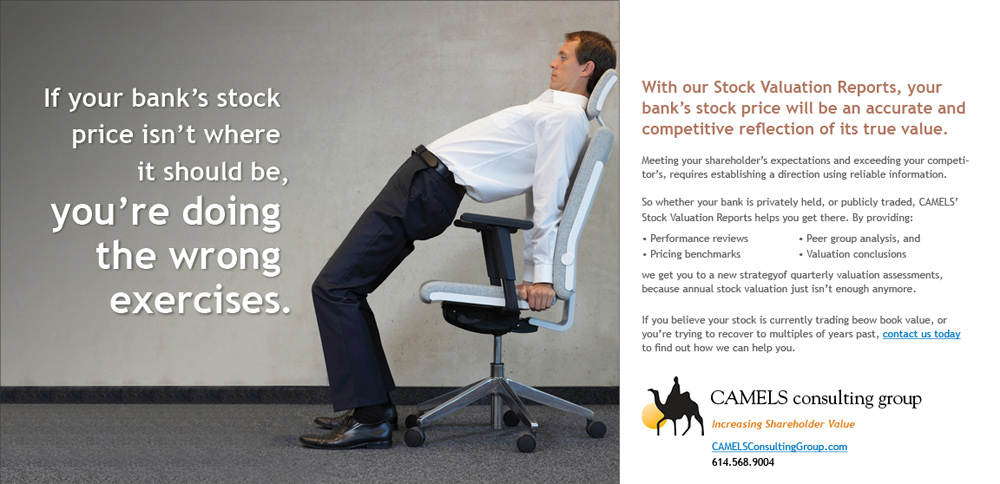 man doing yoga in office chair as a direct marketing example