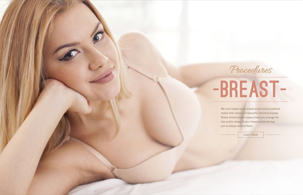 breast section of homepage designed by COlumbus Ohoi web design firm Sevell