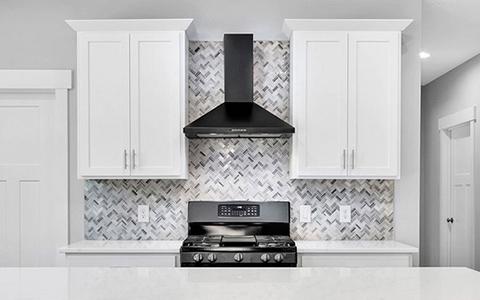 kitchen in home builder website