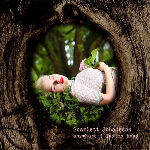 Scarlett Johanssen's album cover found by voice search