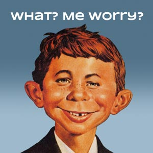 illustration of MAD magazine's Alfred E. Newman