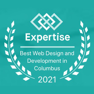 best web design companies badge from Expertise dot com