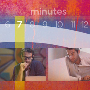 Columbus web design firm's image of 7-minute blog length info graphic