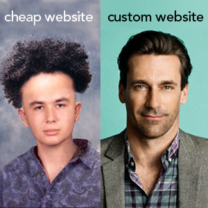 Columbus web design shows how you get what you pay for