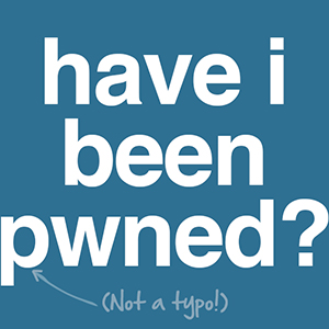 logo from website called have I been owned, spelled with a p