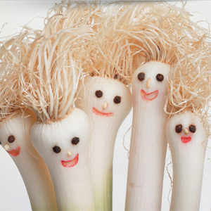 Scallions with faces by Columbus Oh website design firm sevell