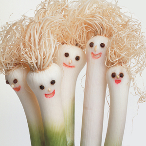 bunch of scallions with happy faces from Columbus SEO firm Sevell